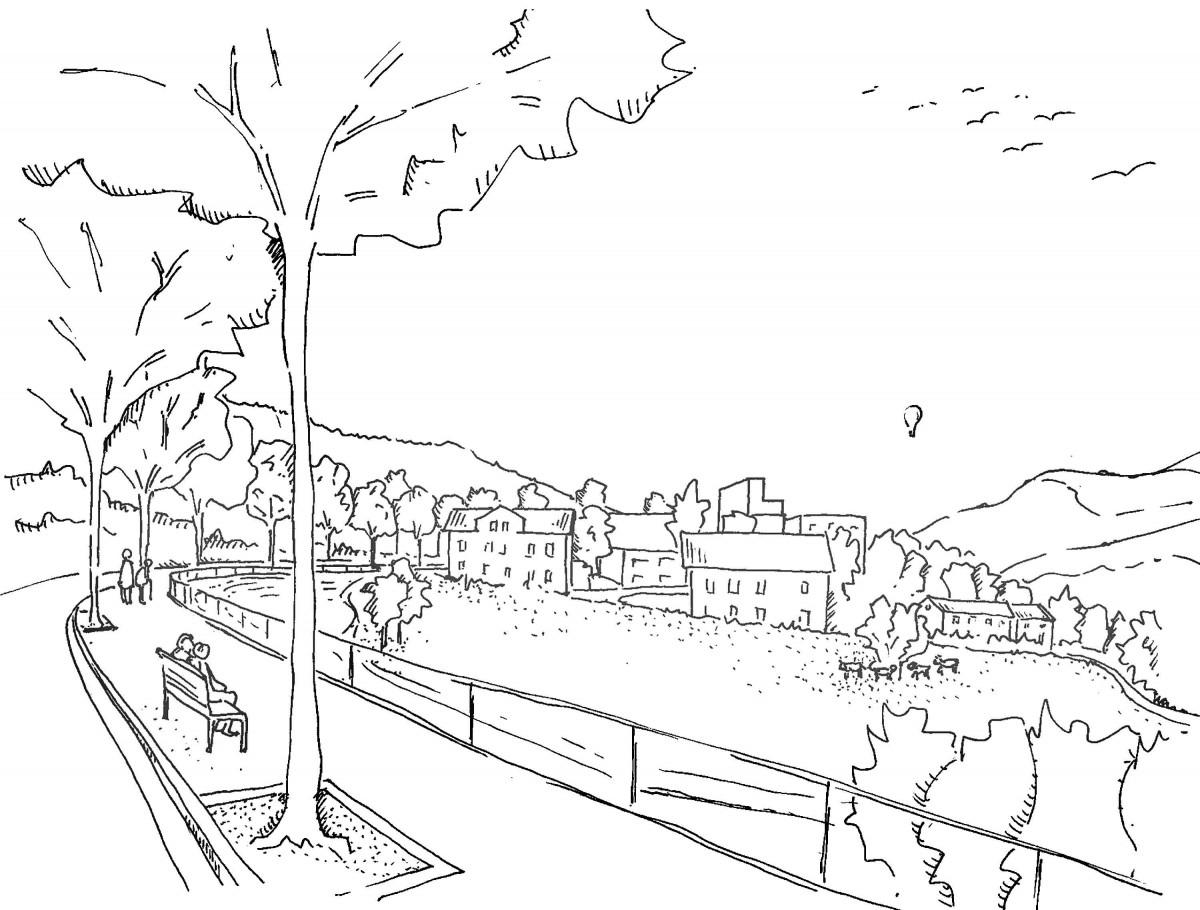 Urban Planning Concept Lichtensteig