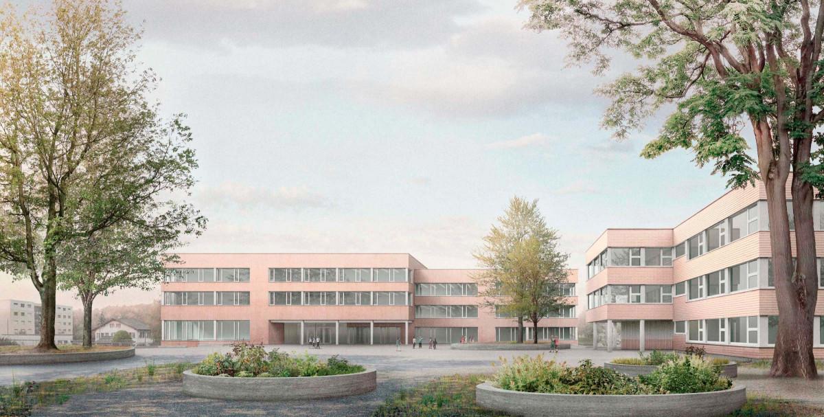 School complex Rönnimoos Lucerne